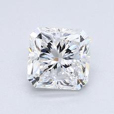 1,23-Carat Radiant Diamond Very Good D VS1