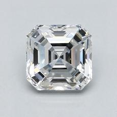 Recommended Stone #4: 1.03-Carat Asscher Cut Diamond