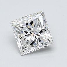 Recommended Stone #3: 1.10-Carat Princess Cut Diamond