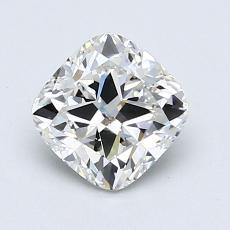 0.81-Carat Cushion Diamond Very Good E SI2