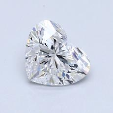 Recommended Stone #4: 1.51-Carat Heart Cut Diamond