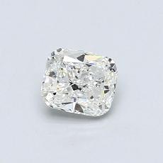 推荐宝石 2:0.50 克拉垫形钻石
