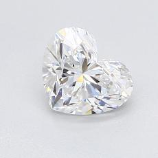 Recommended Stone #1: 0.91-Carat Heart Cut Diamond
