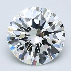 Target Stone: 2.40-Carat Round Cut Diamond