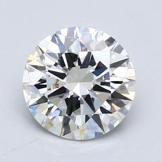 1,51-Carat Round Diamond Ideal G VS1