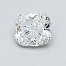 1,02-Carat Cushion Diamond Very Good F IF