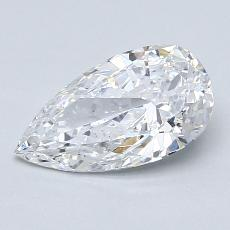 Current Stone: 1.13-Carat Pear Shaped