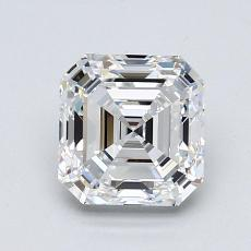 1,51-Carat Asscher Diamond Very Good E VVS2