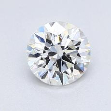 Recommended Stone #4: 0,95-Carat Round Cut Diamond
