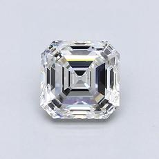 1.01 Carat 上丁方形 Diamond 非常好 F VS1