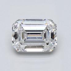 Recommended Stone #4: 1,75-Carat Emerald Cut Diamond