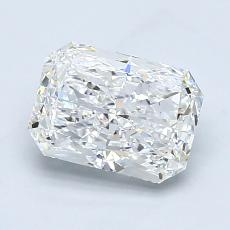 Pierre recommandée n°4: Diamant taille radiant 1,51 carats