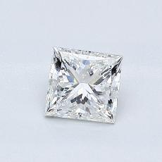 0,55 Carat Princesse Diamond Très bonne F SI1
