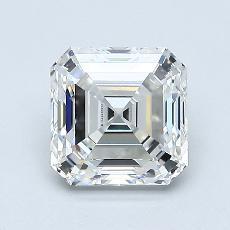 オススメの石No.4:1.40カラットのアッシャーカットダイヤモンド