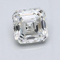 Recommended Stone #4: 1.40-Carat Asscher Cut Diamond