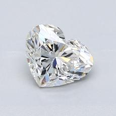Recommended Stone #1: 0.95-Carat Heart Cut Diamond