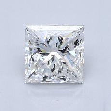 推薦鑽石 #2: 1.01  克拉公主方形鑽石