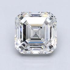 Recommended Stone #4: 1.81-Carat Asscher Cut Diamond