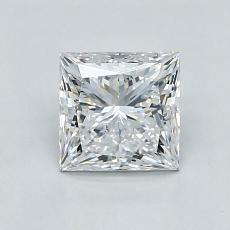 Pierre recommandée n°4: Diamant taille princesse 0,91 carat