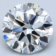 Recommended Stone #4: 3.01-Carat Round Cut Diamond