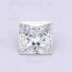 Recommended Stone #2: 0.80-Carat Princess Cut Diamond