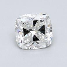 推薦鑽石 #3: 1.01  克拉墊形切割鑽石
