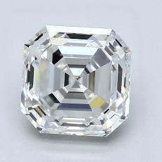 推薦鑽石 #2: 2.36 Carat Asscher Cut