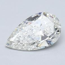 Recommended Stone #4: 1.12-Carat Pear Cut Diamond
