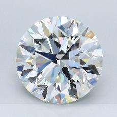 4.20-Carat Round Diamond Ideal J VVS1
