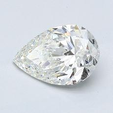 Recommended Stone #4: 0.95-Carat Pear Cut Diamond