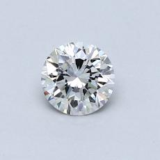 推荐宝石 4:0.40 克拉圆形切割