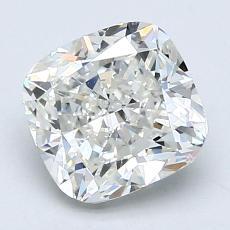 推荐宝石 1:1.61 克拉垫形钻石