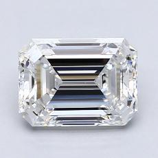 2.01 Carat Esmeralda Diamond Muy buena E VS1