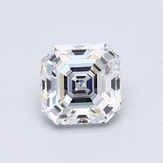 Recommended Stone #4: 0.81-Carat Asscher Cut Diamond