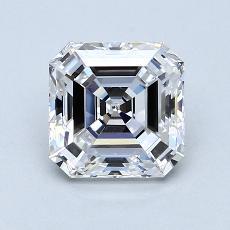 Target Stone: 1.75-Carat Asscher Cut Diamond