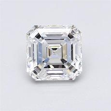 1.06-Carat Asscher Diamond Very Good E VS1