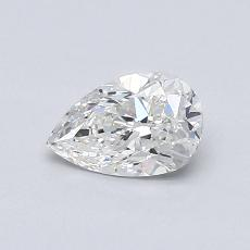Recommended Stone #4: 0.61-Carat Pear Cut Diamond