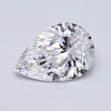 Piedra objetivo: Diamante en forma de pera de0.90 quilates