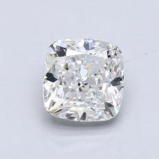 1.04-Carat Cushion Diamond Very Good F VS2