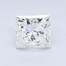 目标宝石:1.01 克拉公主方形钻石