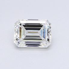 Recommended Stone #1: 1,51-Carat Emerald Cut Diamond