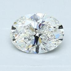 Recommended Stone #4: 1.00-Carat Oval Cut