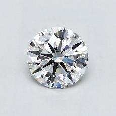 Recommended Stone #4: 0.82-Carat Round Cut Diamond