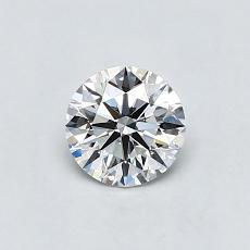 Recommended Stone #4: 0.61-Carat Round Cut Diamond