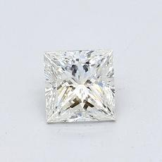 0.59-Carat Princess Diamond Very Good I VS1