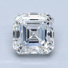 推薦鑽石 #1: 3.01 Carat Asscher Cut
