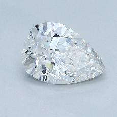 Recommended Stone #1: 0.93-Carat Pear Shaped