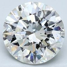 Pierre recommandée n°4: Diamant taille ronde 3,20 carat