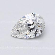 Recommended Stone #4: 0.67-Carat Pear Cut Diamond