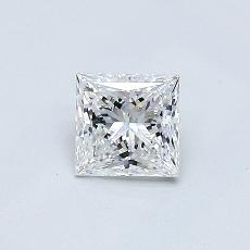 Recommended Stone #2: 0.43-Carat Princess Cut Diamond